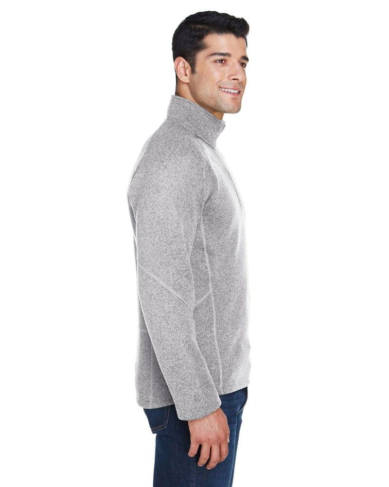 Devon & Jones DG792 - Chandail Bristol Fleece Demi-Zip