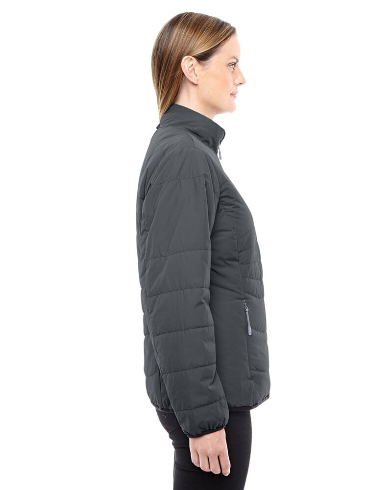 Ash City North End 78231 - Ladies Resolve Interactive Insulated Packable Jacket