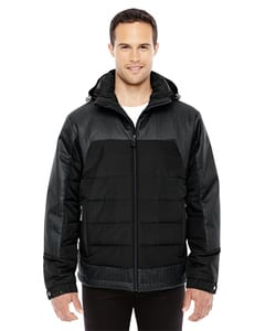 Ash City North End 88232 - Mens Excursion Meridian Insulated Jacket with Melange Print
