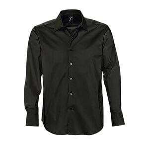 Sols 17000 - Camisa Hombre Strech Manga Larga Brighton