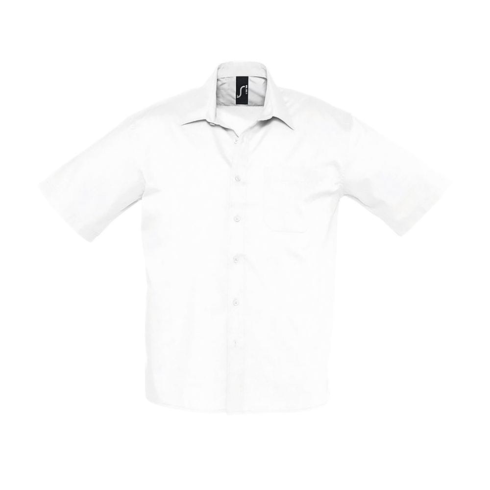 Sol's 16050 - Short Sleeve Poplin Men's Shirt Bristol