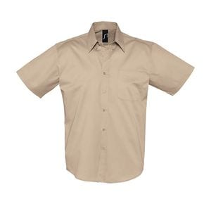 Sols 16080 - Short Sleeve Cotton Twill Mens Shirt Brooklyn