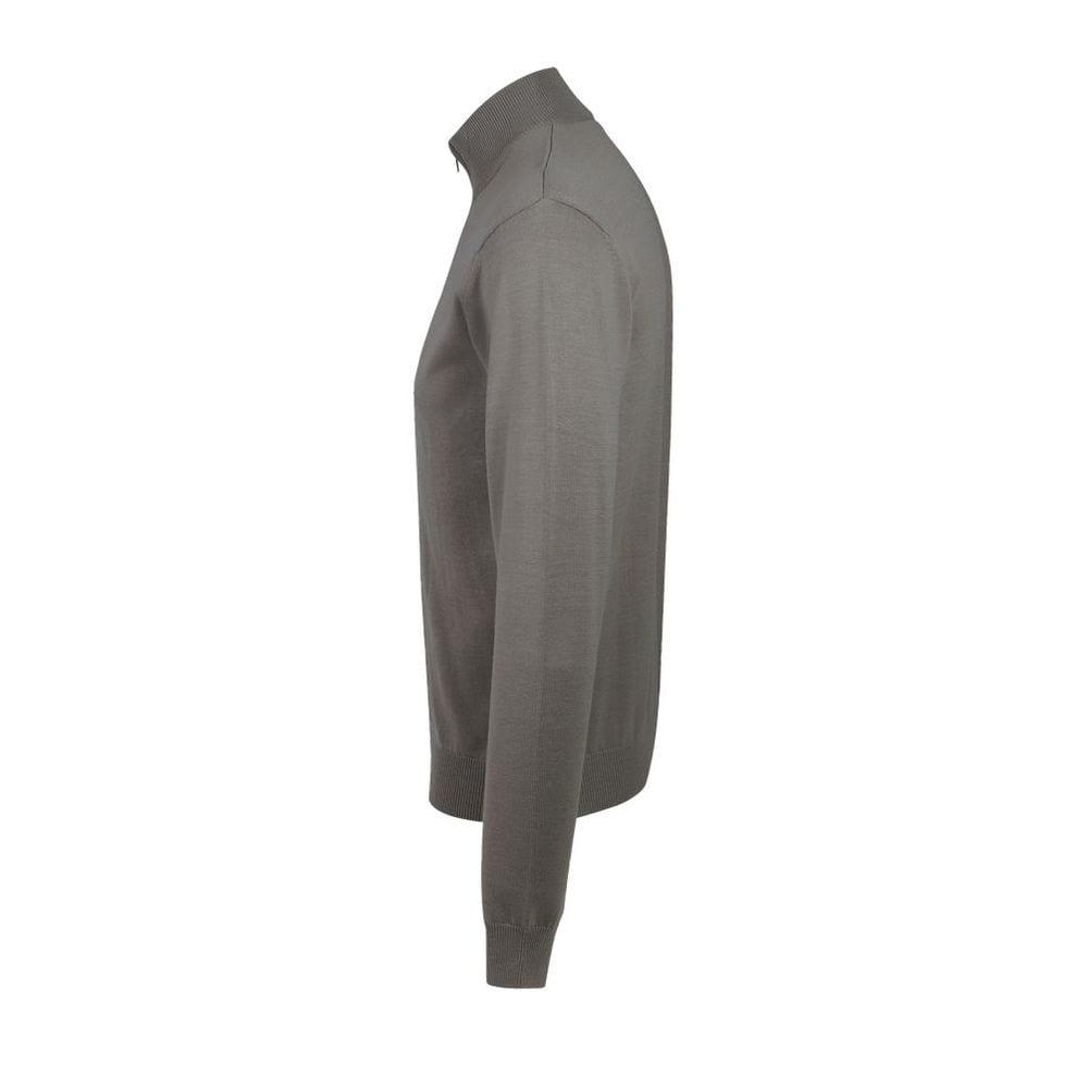 Sol's 00548 - Men's Zipped Knitted Cardigan Gordon