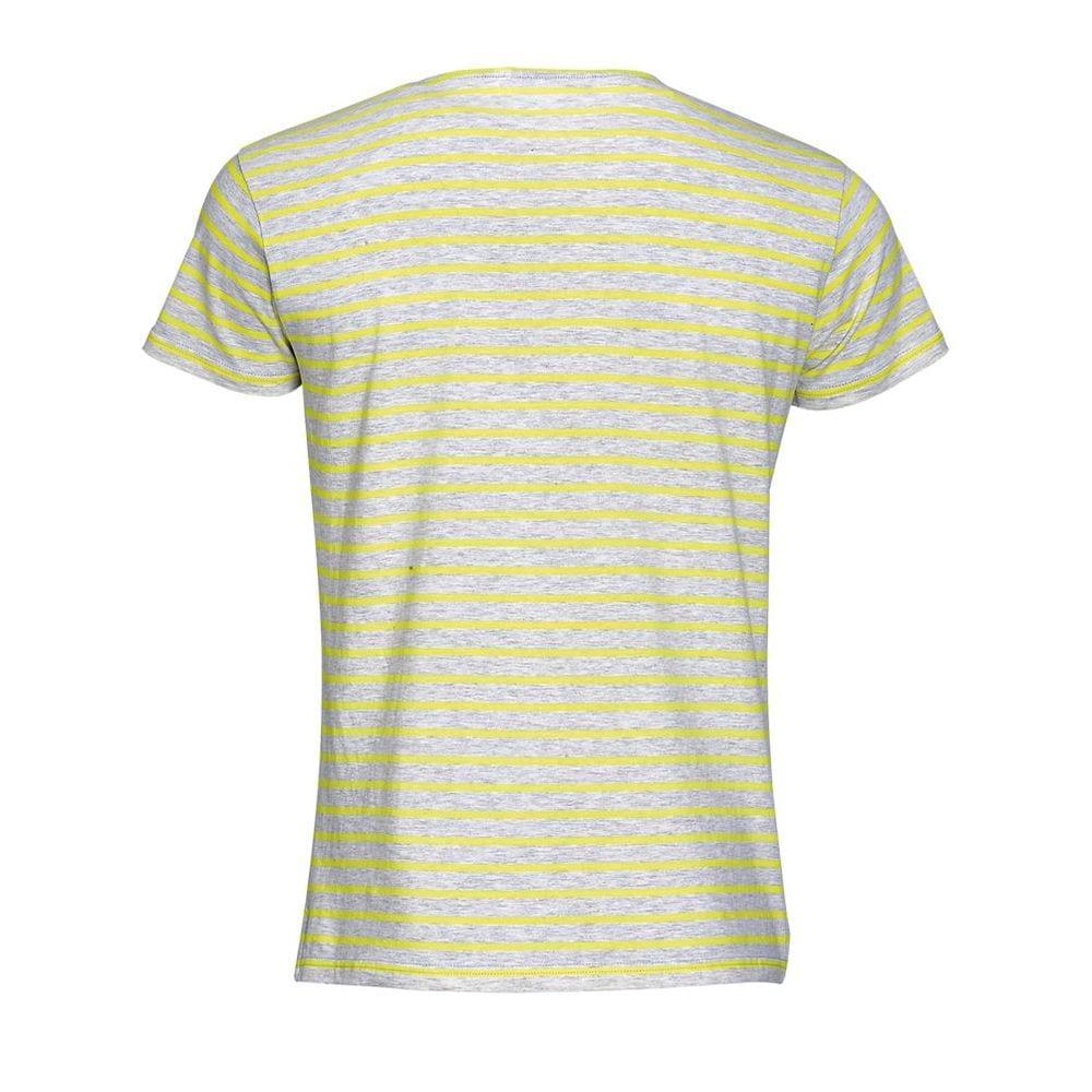 Sol's 01398 - Men's Round Neck Striped T-Shirt Miles