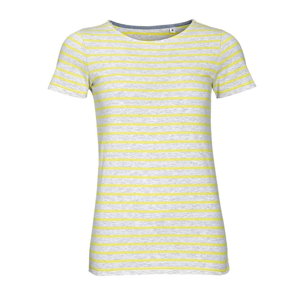 Sol's 01399 - Women's Round Neck Striped T-Shirt Miles