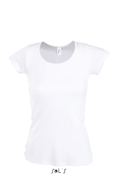 Sol's 11865 - Tee-Shirt Femme Col Rond MOODY