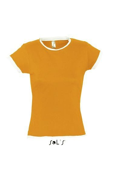 Sol's 11570 - WOMEN'S ROLLED AND RAW CUT FINISH T-SHIRT MOOREA