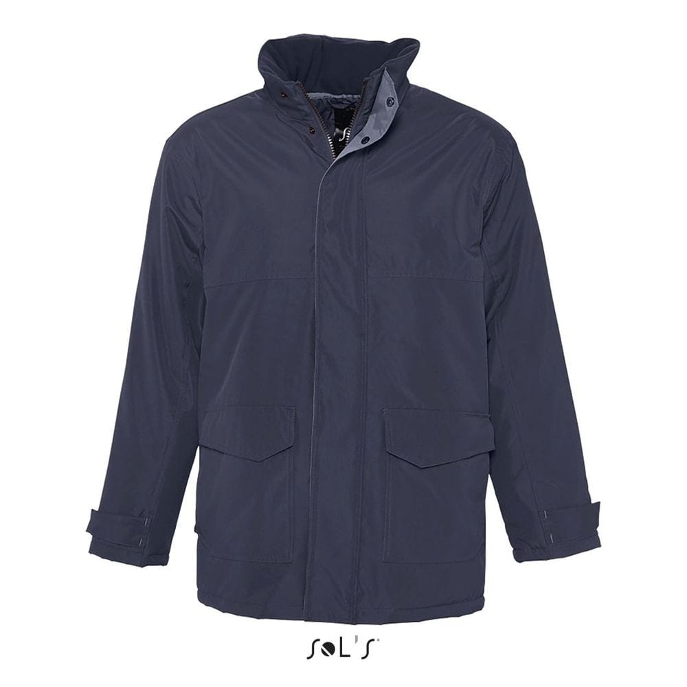 Sol's 43500 - Unisex Fleece Lined Padded Parka Record