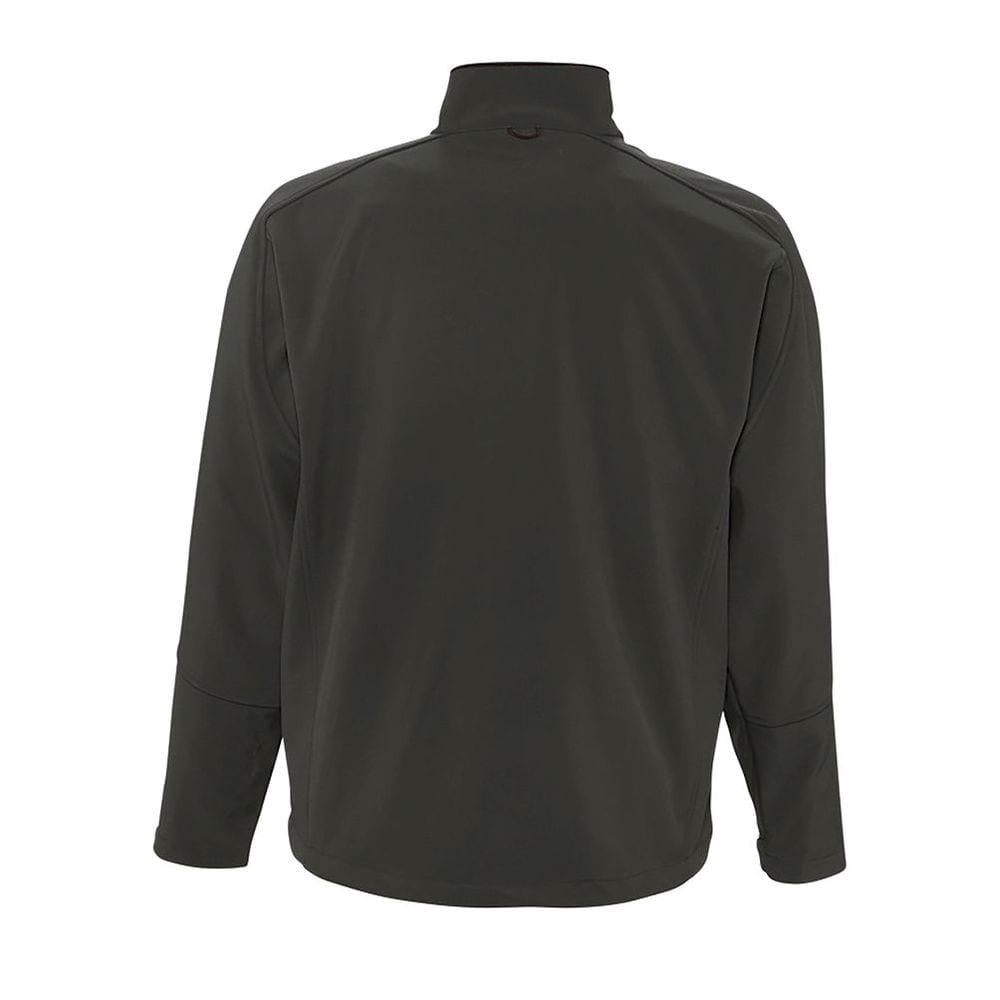 Sol's 46600 - Men's Softshell Zipped Jacket Relax