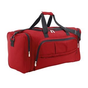 Sols 70900 - Polyester Multi-Pocket Sports Bag Week-End