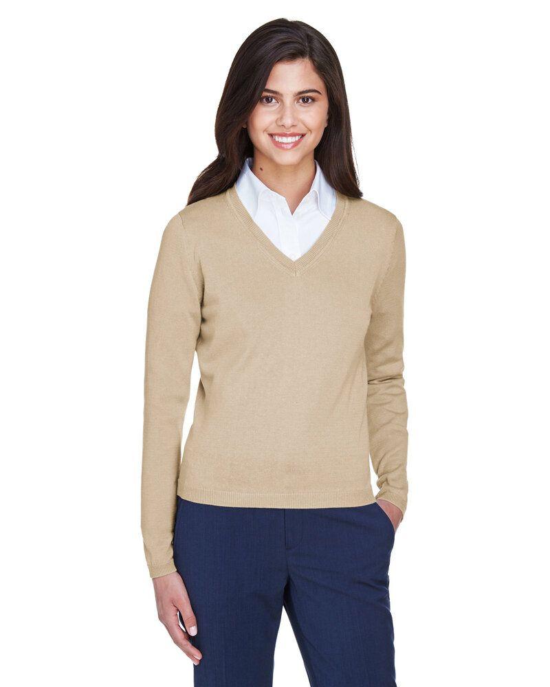 Devon & Jones D475W - Ladies V-Neck Sweater