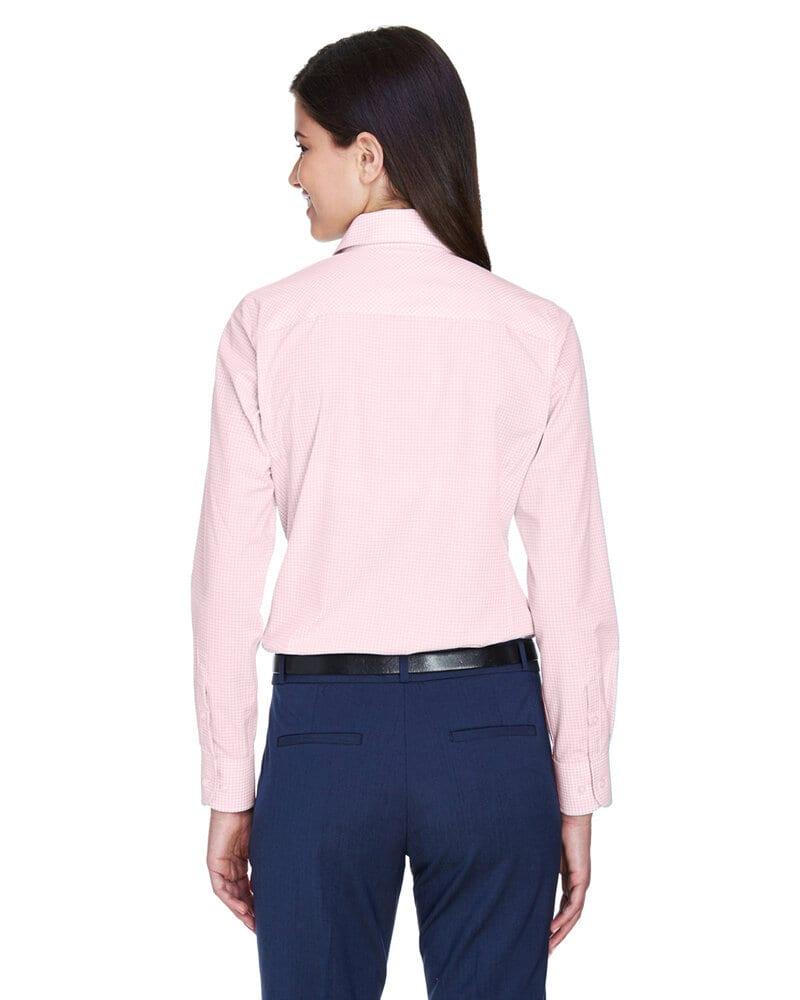 Devon & Jones D640W - T-Shirt Collection Crown - Dames - carreaux vichy