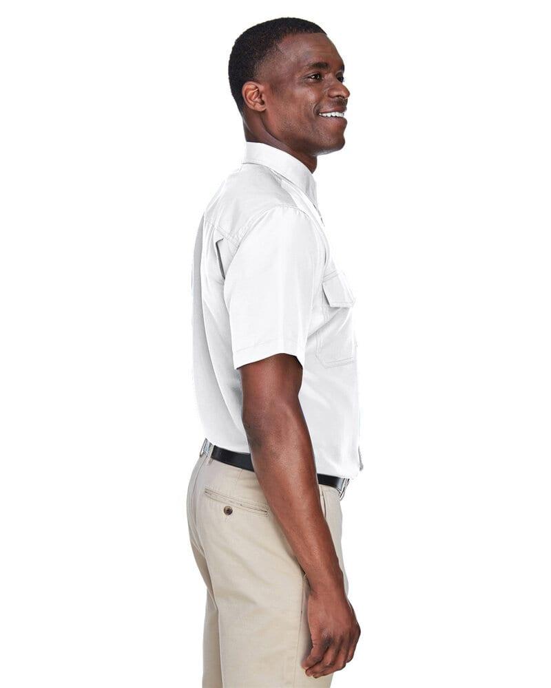 Harriton M580 - Men's Key West Short-Sleeve Performance Staff Shirt