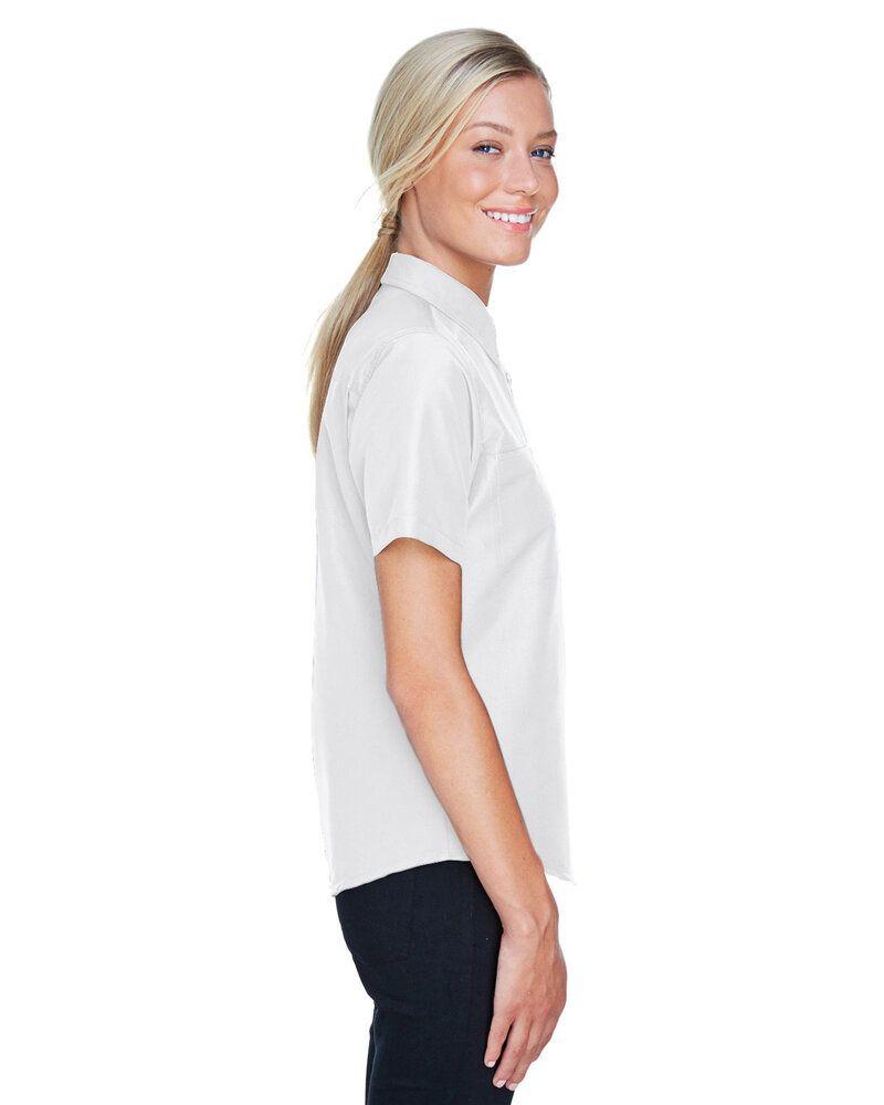 Harriton M580W - Ladies Key West Short-Sleeve Performance Staff Shirt