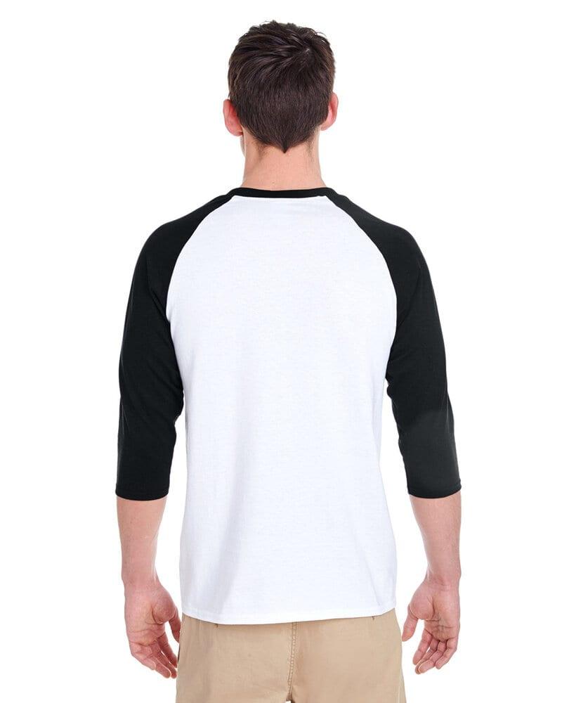 Gildan G570 - Heavy Cotton 3/4 Sleeve Raglan