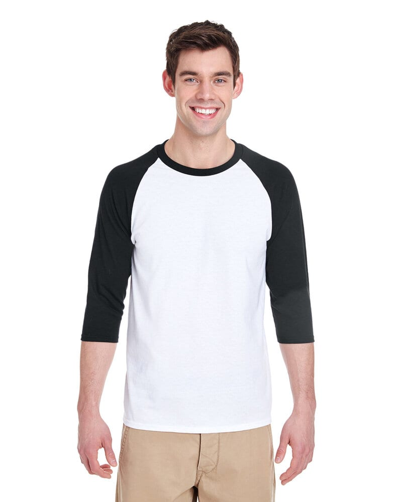 Gildan G570 - Heavy Cotton ¾-Sleeve Raglan
