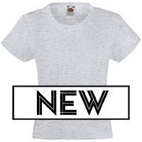 Fruit of the Loom SS005 - Slim Fit Girl T-Shirt Valueweight