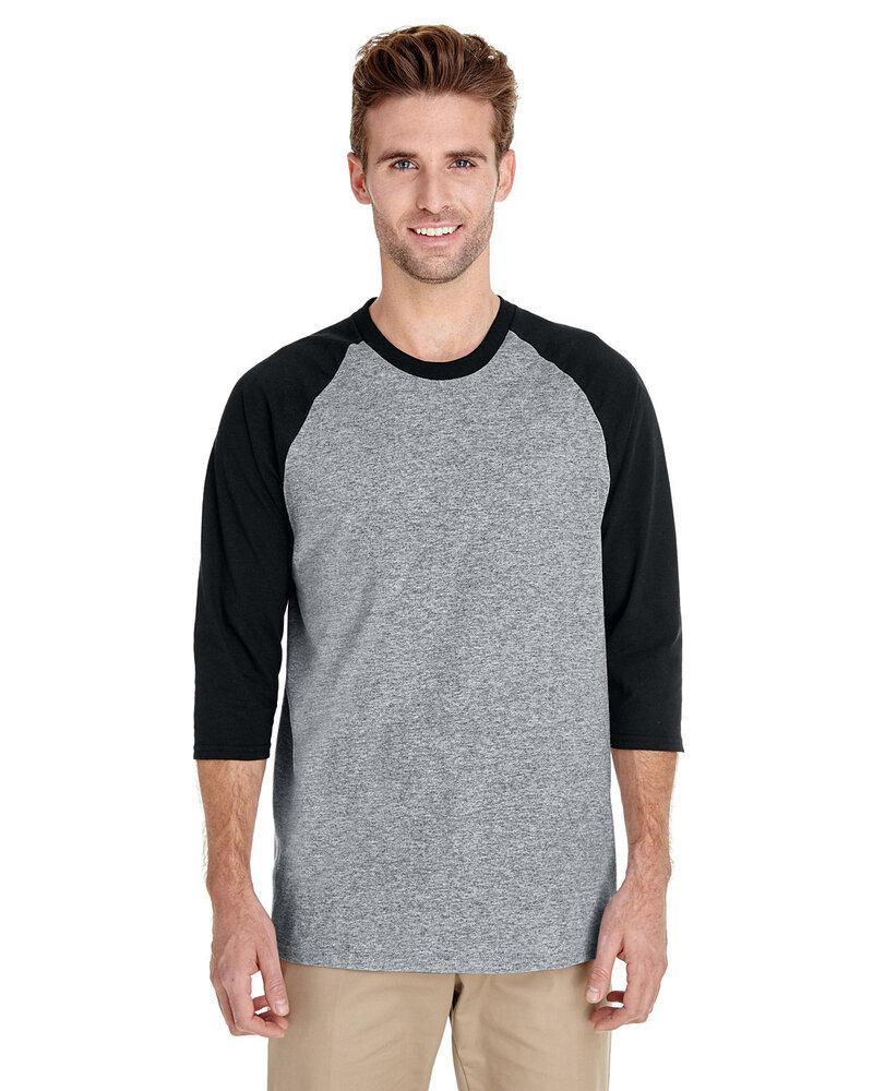 Gildan 5700 - Heavy Cotton Three-Quarter Raglan Sleeve T-Shirt