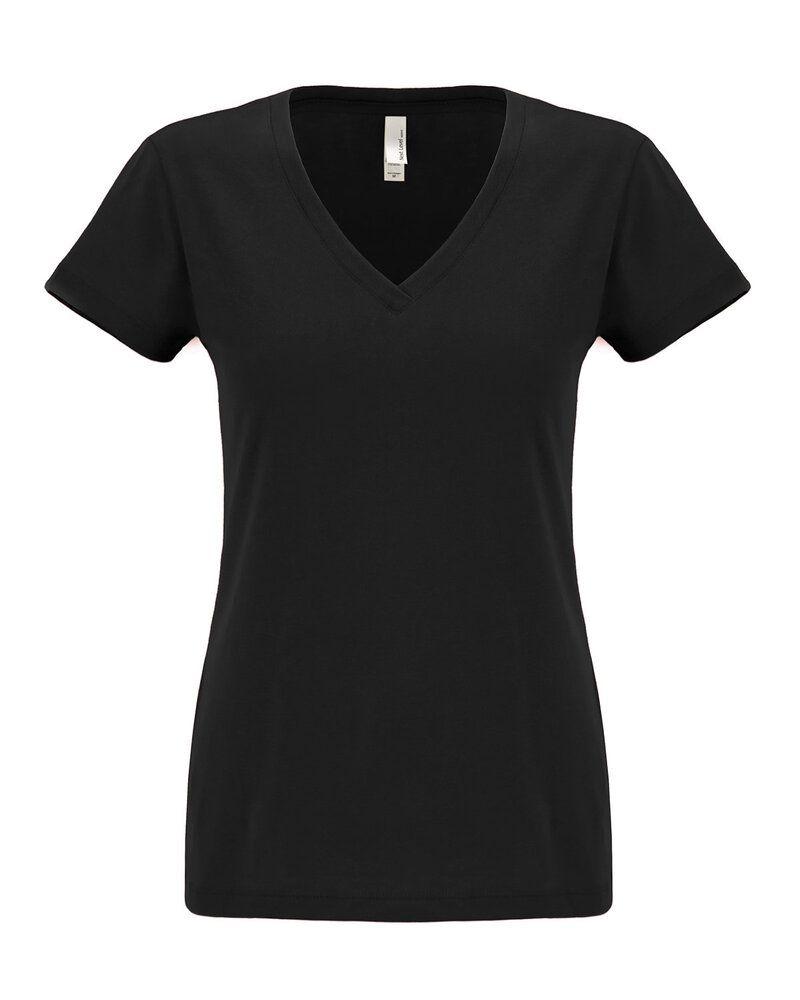 Next Level 6480 - Women's Sueded Short Sleeve V