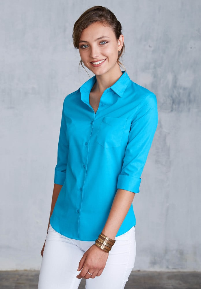Kariban K558 - Ladies' 3/4 sleeve shirt