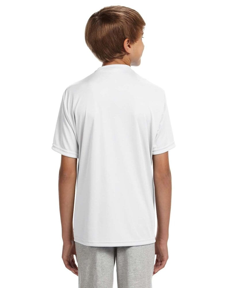 A4 NB3142 - Youth Shorts Sleeve Cooling Performance Crew Shirt