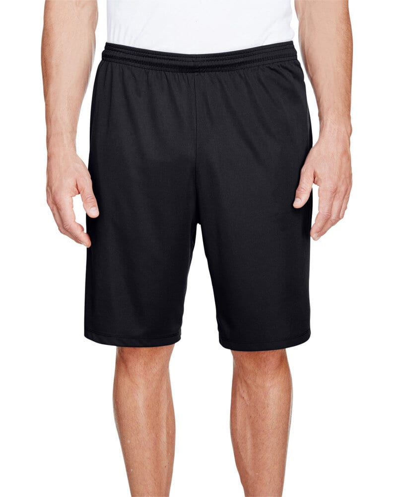 """A4 N5338 - Men's 9"""" Inseam Pocketed Performance Shorts"""