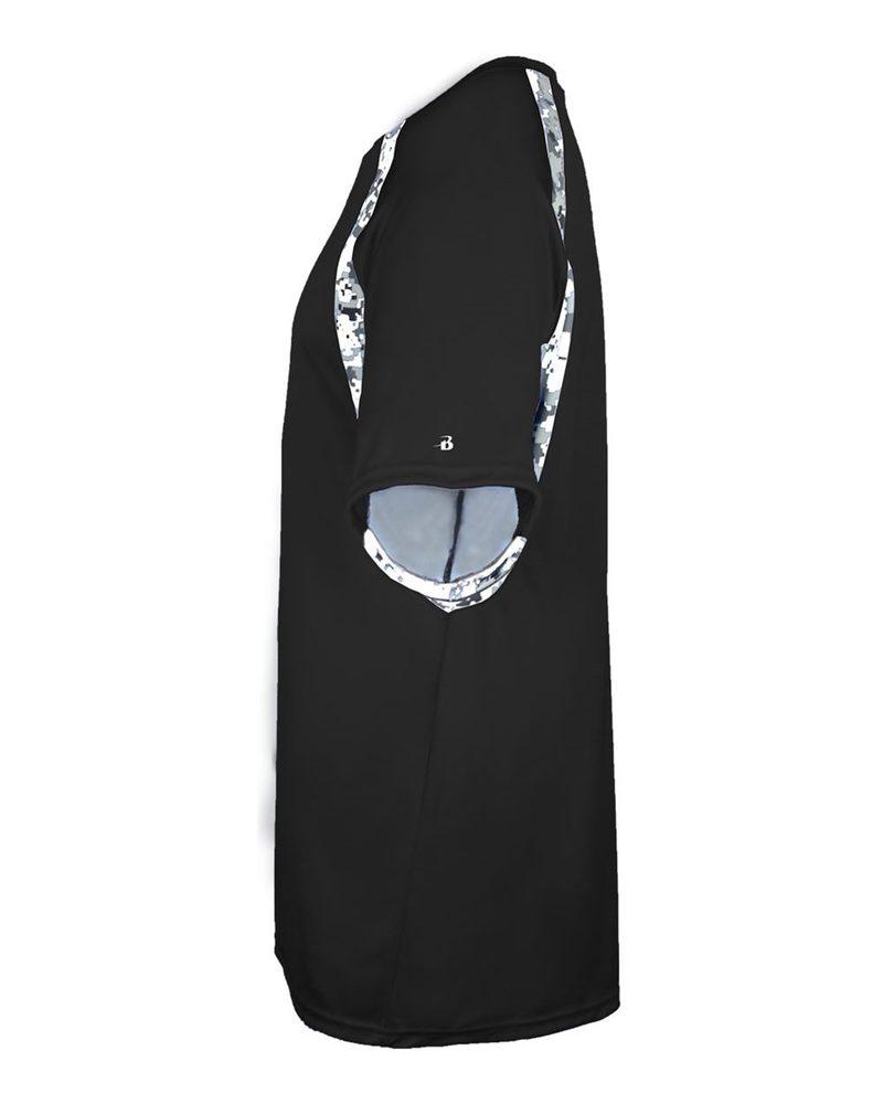 Badger 2140 - Remera Digital de Camuflaje para jóvenes