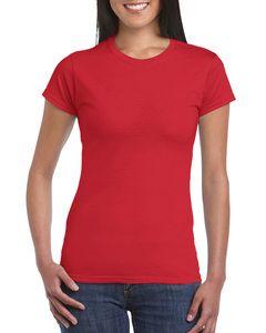Gildan GN641- Camiseta de Manga Corta Mujer