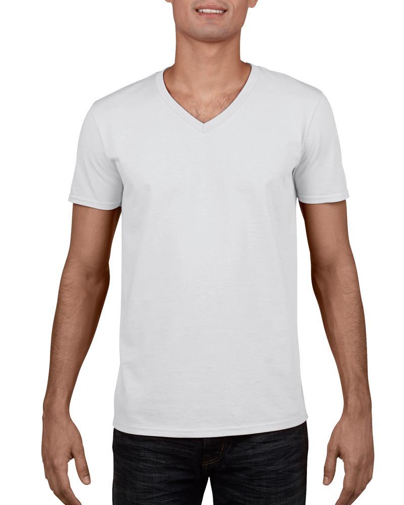 Gildan GN646 - T-Shirt Homme Col V 100% Coton