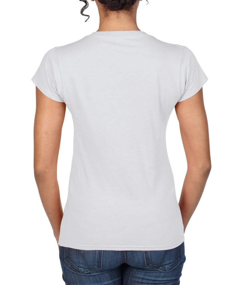 Gildan GN647 - Softstyle Ladies V-Neck T-Shirt