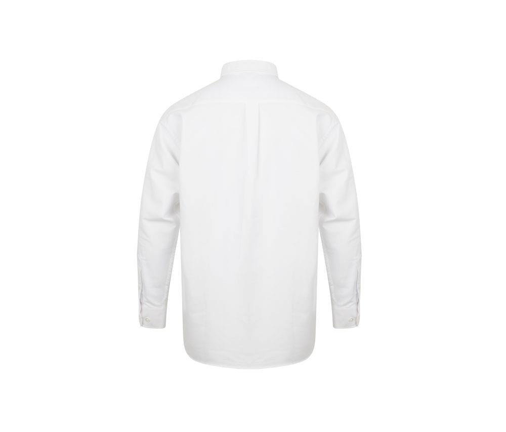 Henbury HY510 - Long sleeved classic Oxford shirt