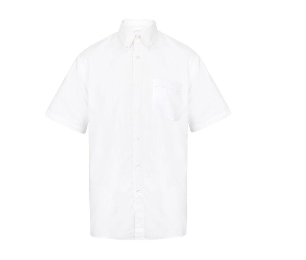 Henbury HY515 - Short sleeve classic Oxford shirt
