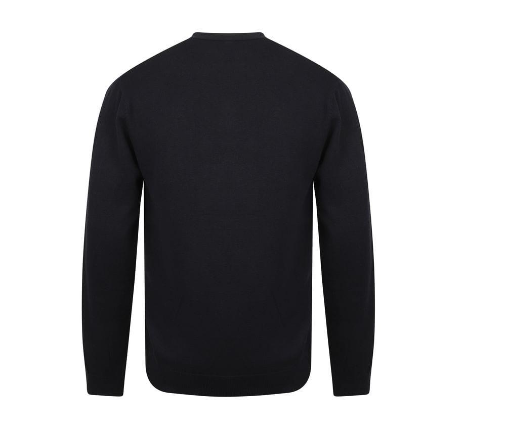Henbury HY722 - V-button cardigan