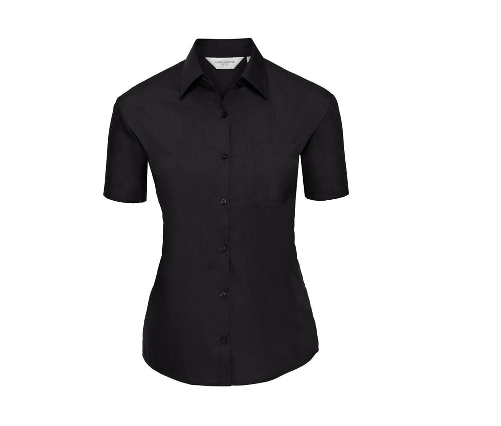 Russell Collection JZ35F - Ladies' Poplin Shirt