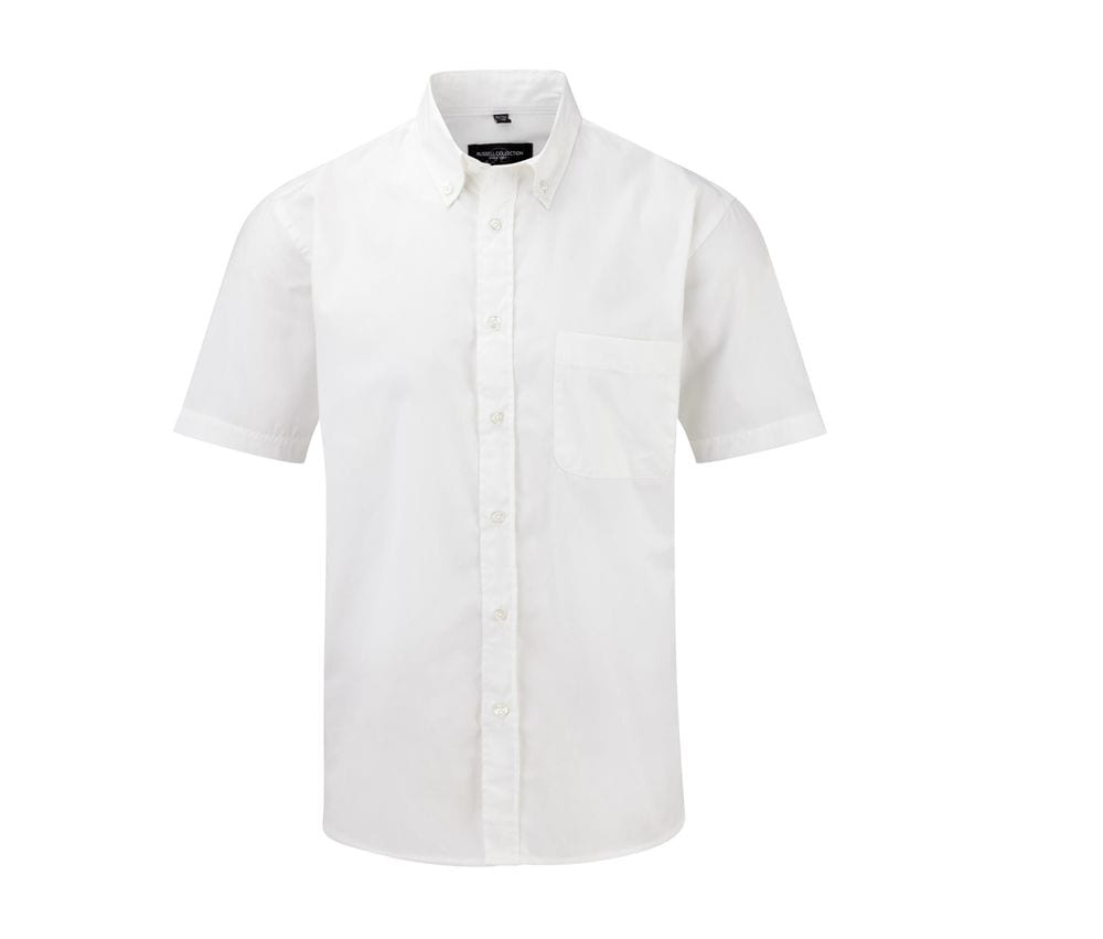 Russell Collection JZ917 - Short Sleeve Classic Twill Shirt