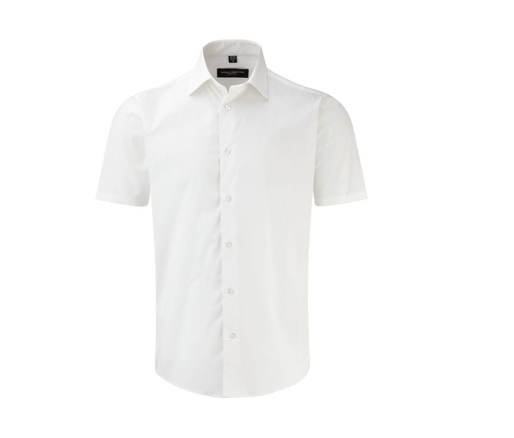 Russell Collection JZ947 - Short Sleeve Fitted Shirt