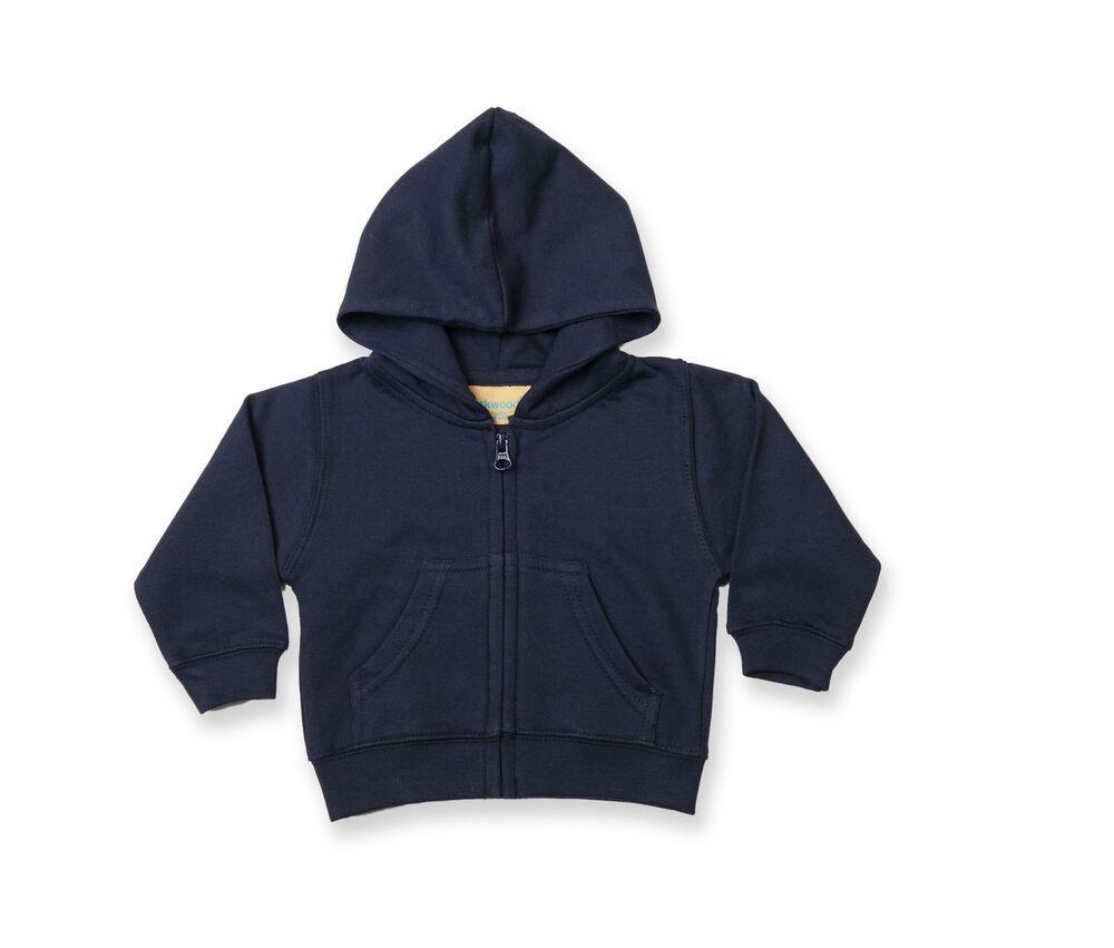 Larkwood LW005 - Zip Through Hooded Sweatshirt