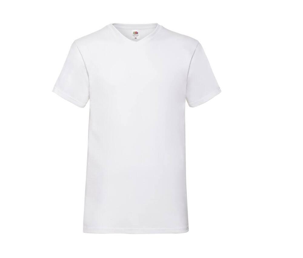 Fruit of the Loom SC234 - Men'S V-Neck Tee Shirt Valueweight