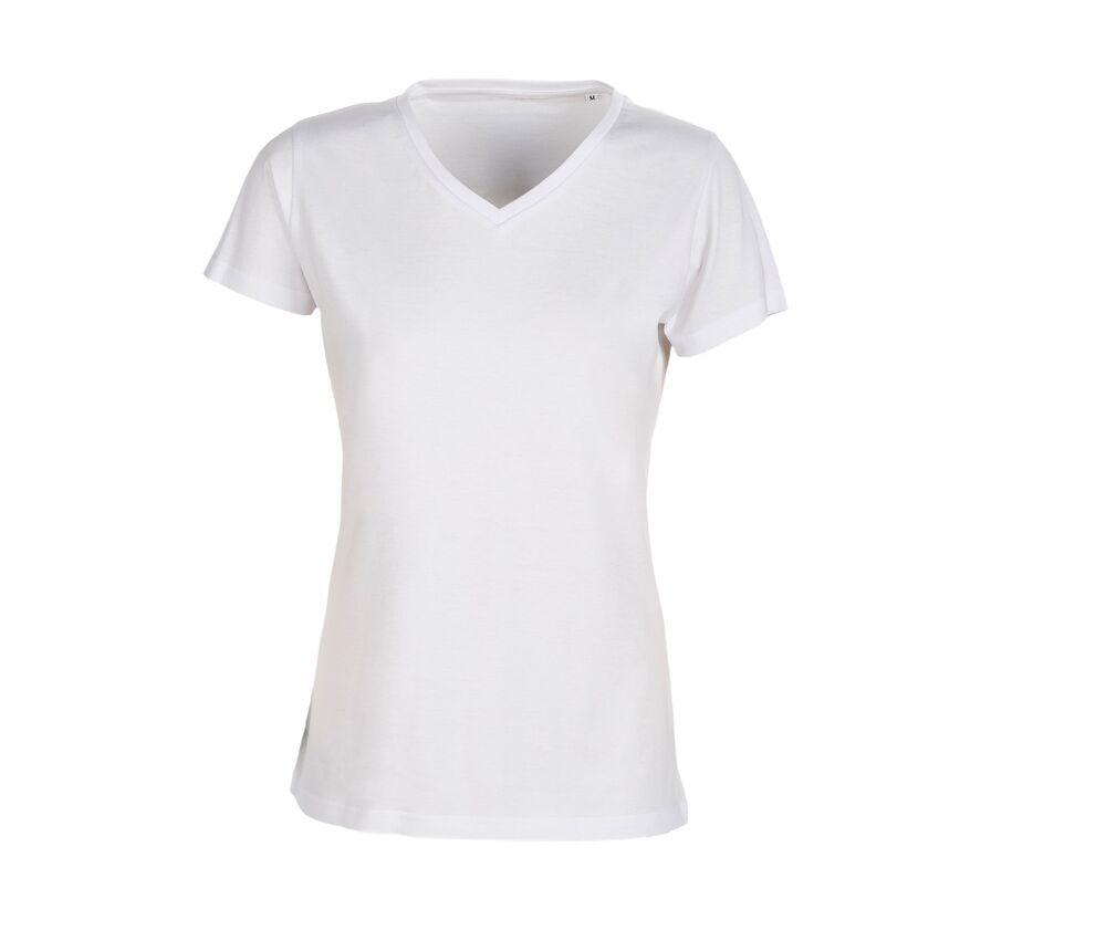 SANS Étiquette SE634 - Ladies' no label V-neck t-shirt