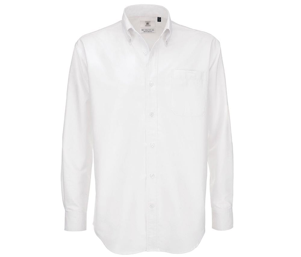B&C BC700 - Chemise Homme Manches Longues Oxford