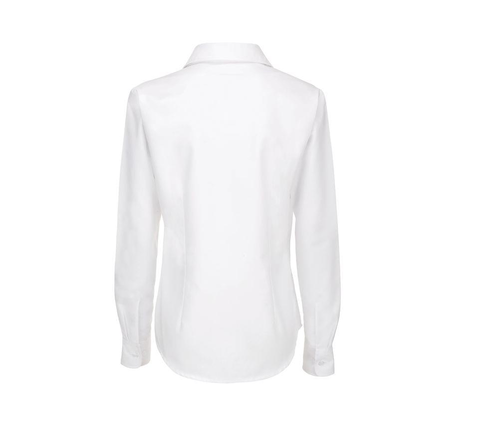 B&C BC701 - Women's Long Sleeve Oxford Shirt