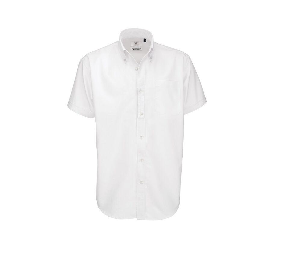 B&C BC702 - Men's Oxford Short Sleeve Shirt