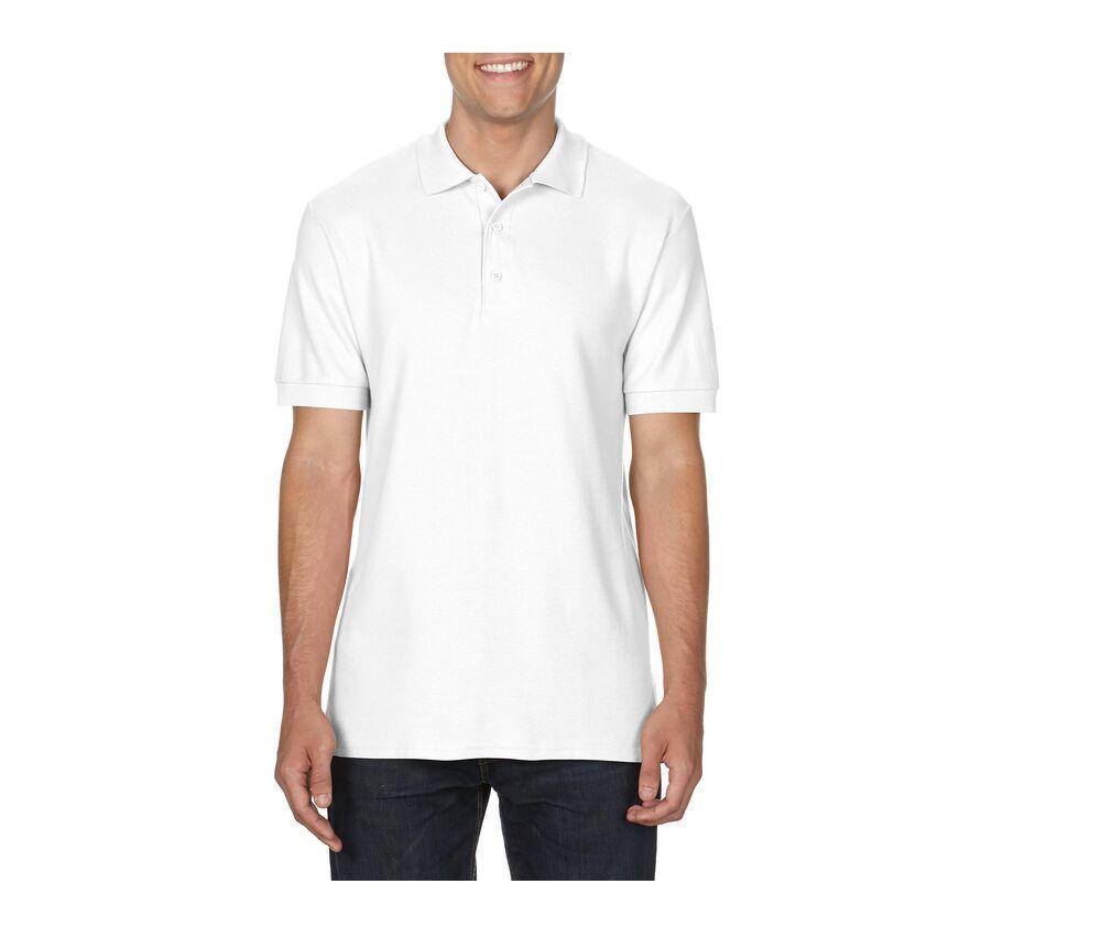 Gildan GN858 - Premium Cotton Double Piqué Polo