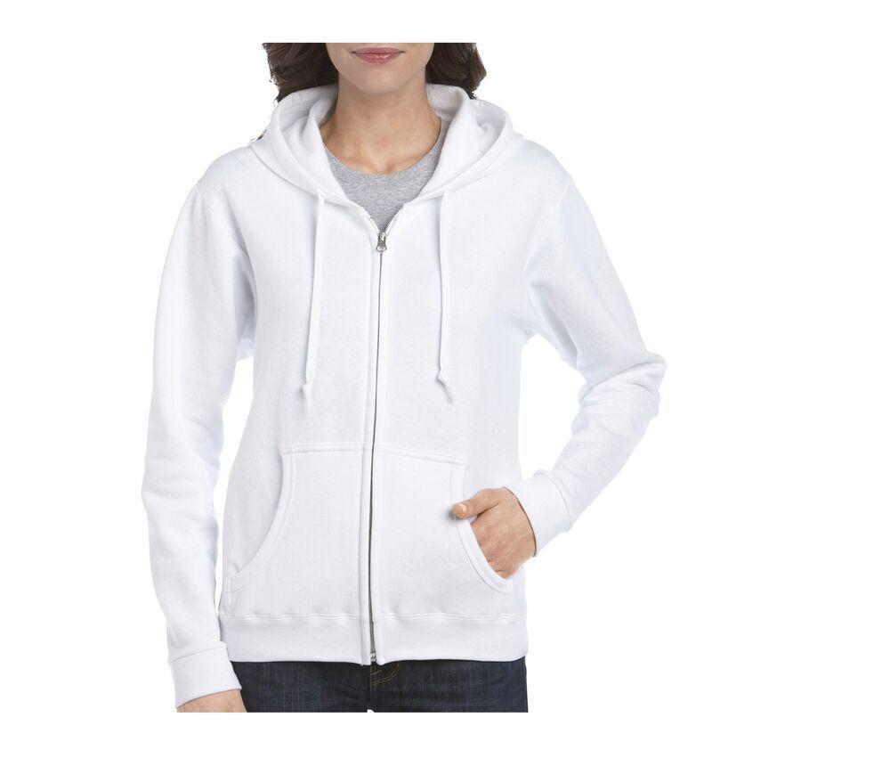 Gildan GN961 - Zipped Hoodie Women Kangaroo Pockets
