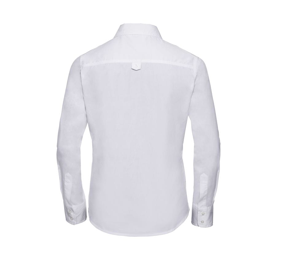 Russell Collection JZ16F - Long Sleeve Classic Twill Shirt