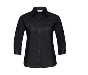 Russell Collection JZ18F - Ladies` Roll 3/4 Sleeve Shirt
