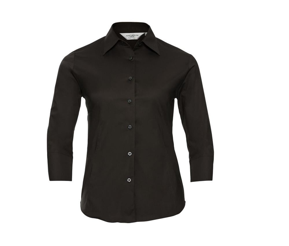 Russell Collection JZ46F - 3/4 Sleeve Fitted Shirt