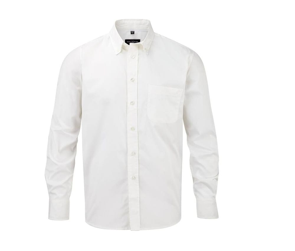 Russell Collection JZ916 - Men's Long Sleeve Classic Twill Shirt
