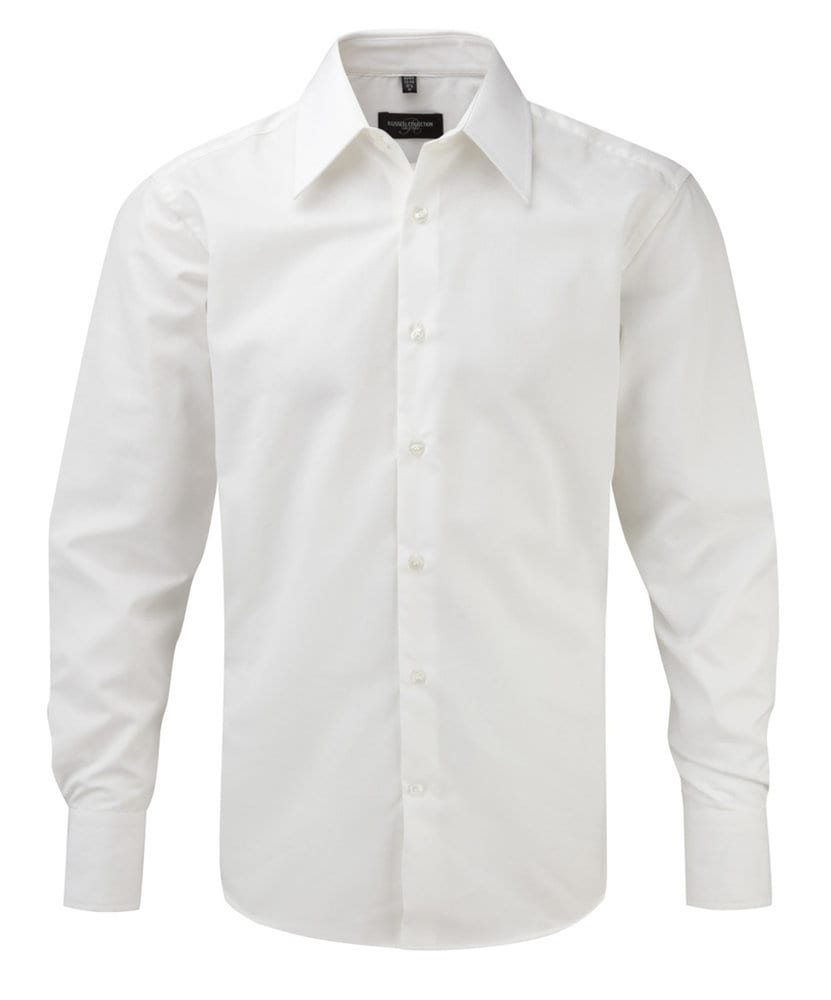 Russell Collection JZ954 - Men's Long Sleeve Tencel® Fitted Shirt