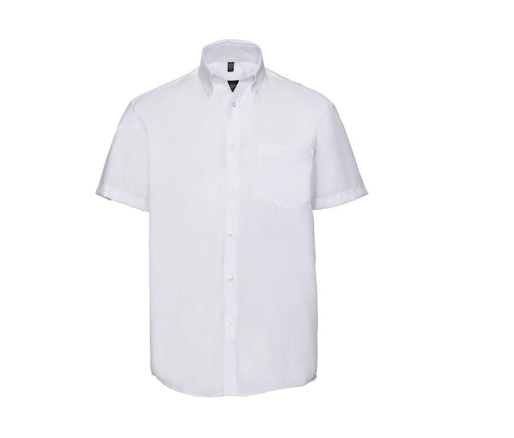 Russell Collection JZ957 - Men's Short Sleeve Ultimate Non-Iron Shirt